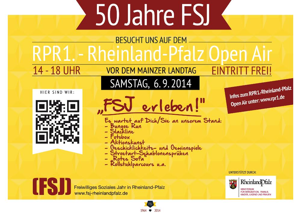 Flyer 50 Jahre FSJ